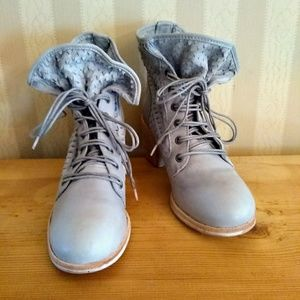 Felmini Anthropologie Slouch Combat Boots